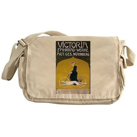 Victoria Art Nouveau Messenger Bag