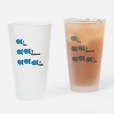 Counting in Tagalog Drinking Glass