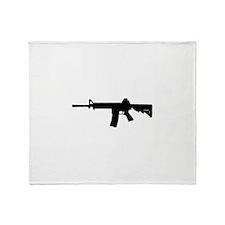 Cute Firearms Throw Blanket