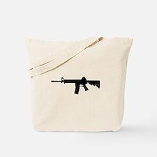 Unique Rifle Tote Bag