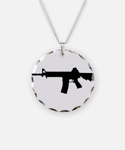 Funny Rifle Necklace