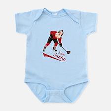 Team Santa Infant Bodysuit