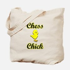 Chess Chick Tote Bag