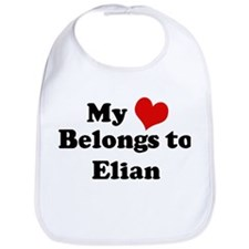 My Heart: Elian Bib