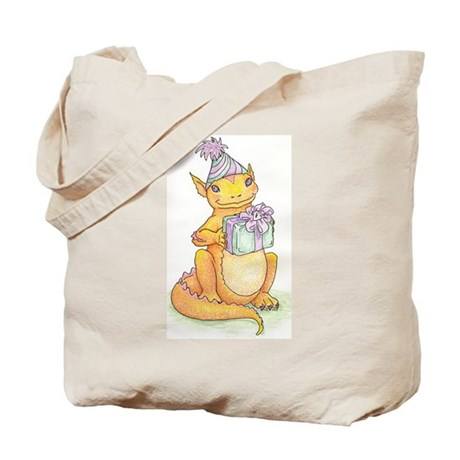 Baby Dragon with a gift Tote Bag