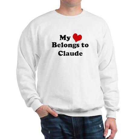 My Heart: Claude Sweatshirt