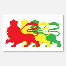 COLOR A LION Decal