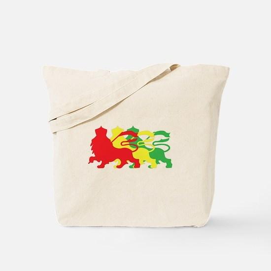 COLOR A LION Tote Bag