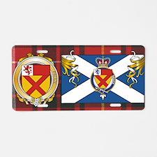 Bruce Scottish Designed License Plate