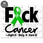 Fuck Kidney Cancer Puzzle
