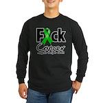 Fuck Kidney Cancer Long Sleeve Dark T-Shirt