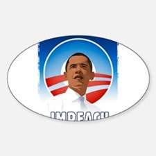 Funny Obama fail Sticker (Oval)
