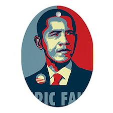 Obama - Mistake Ornament (Oval)