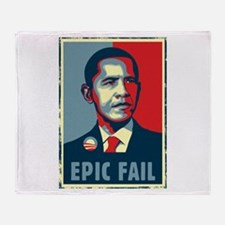 Obama - Mistake Throw Blanket