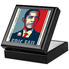 Obama - Mistake Keepsake Box