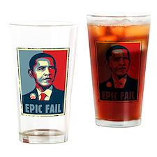Obama - Mistake Drinking Glass