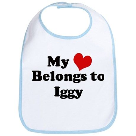 My Heart: Iggy Bib