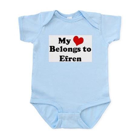 My Heart: Efren Infant Creeper