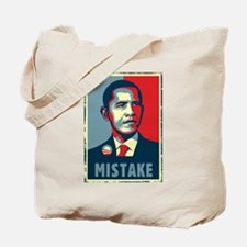 Obama - MISTAKE Tote Bag