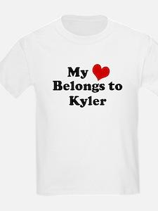 My Heart: Kyler Kids T-Shirt