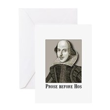 Shakespeare Hos Greeting Card