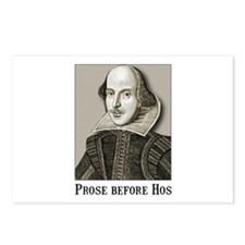 Shakespeare Hos Postcards (Package of 8)