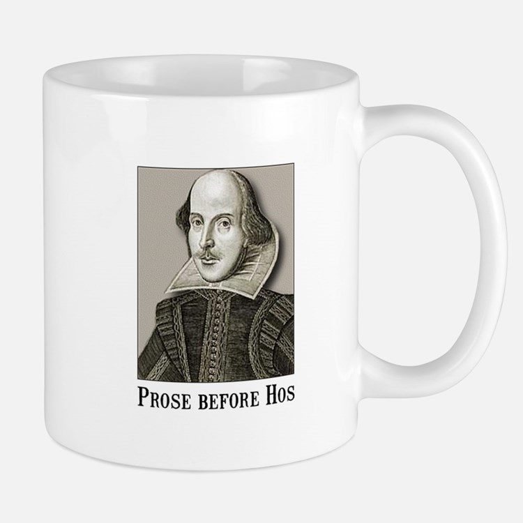 Shakespeare Hos Mug