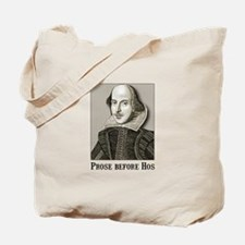 Shakespeare Hos Tote Bag