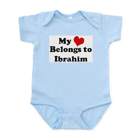 My Heart: Ibrahim Infant Creeper