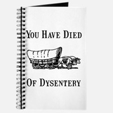 Died Of Dysentery Journal