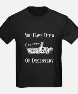 Died Of Dysentery T