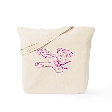 Unique Taekwondo girl Tote Bag