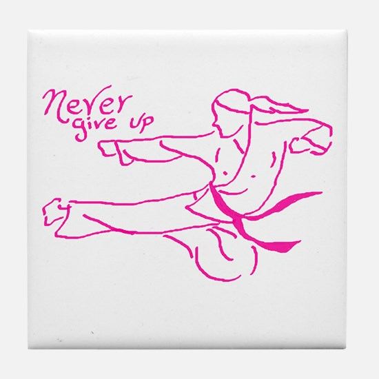 Martial art Tile Coaster