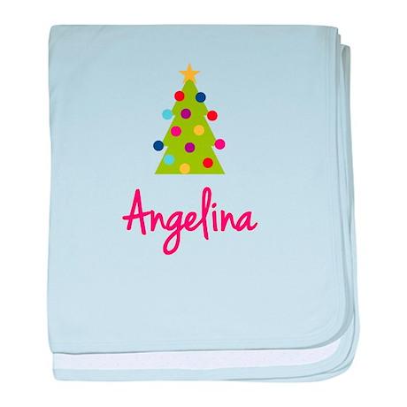 Christmas Tree Angelina baby blanket