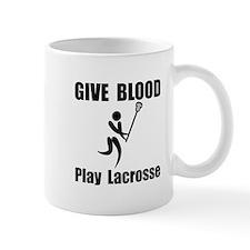 Lacrosse Give Blood Mug