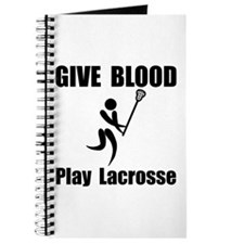 Lacrosse Give Blood Journal