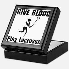 Lacrosse Give Blood Keepsake Box