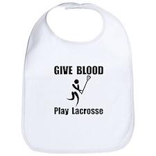 Lacrosse Give Blood Bib