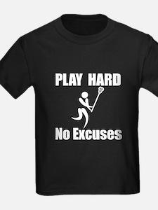 Lacrosse Play Hard T