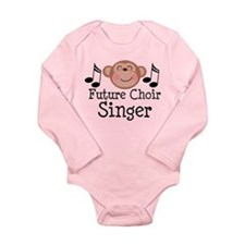 Future Choir Singer Kids Long Sleeve Infant Bodysu