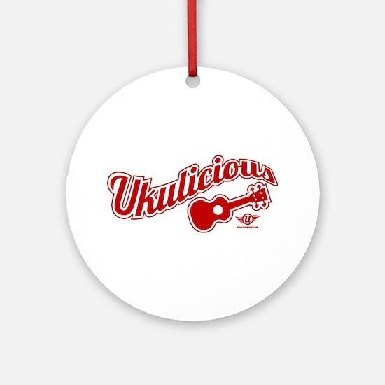 Ukulicious Ornament (Round)