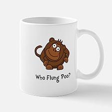 Monkey Flung Poo Mug