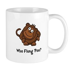 Monkey Flung Poo Mug