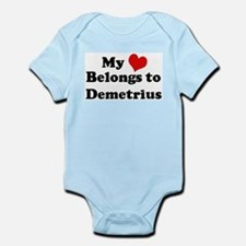 My Heart: Demetrius Infant Creeper
