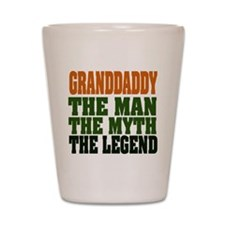 Grandaddy - The Legend Shot Glass
