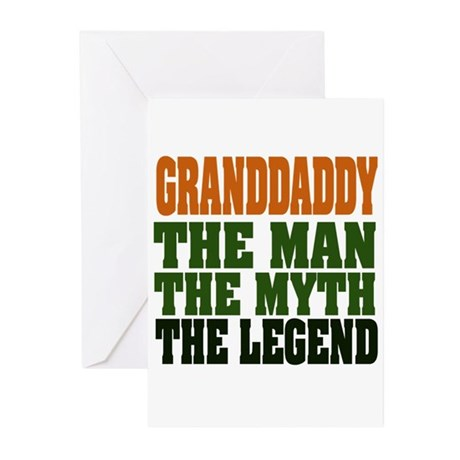 Grandaddy - The Legend Greeting Cards (Pk of 20)