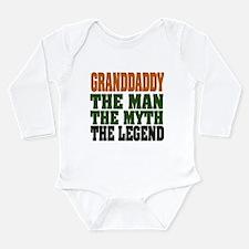Grandaddy - The Legend Long Sleeve Infant Bodysuit