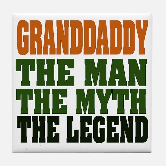 Grandaddy - The Legend Tile Coaster