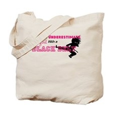 Funny Judo girl Tote Bag