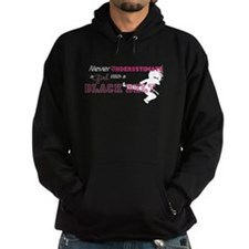 Cute Martial arts girl Hoodie